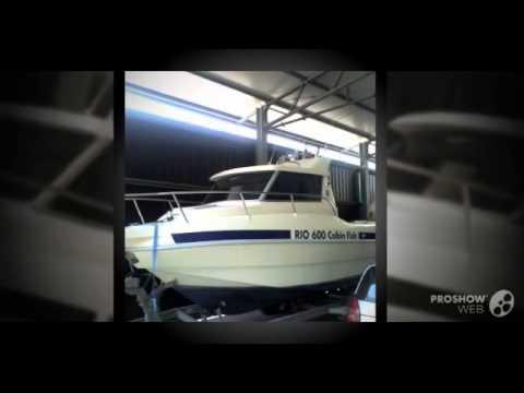 Rio 600 cabin fish Power boat, Fishing Boat Year - 2002