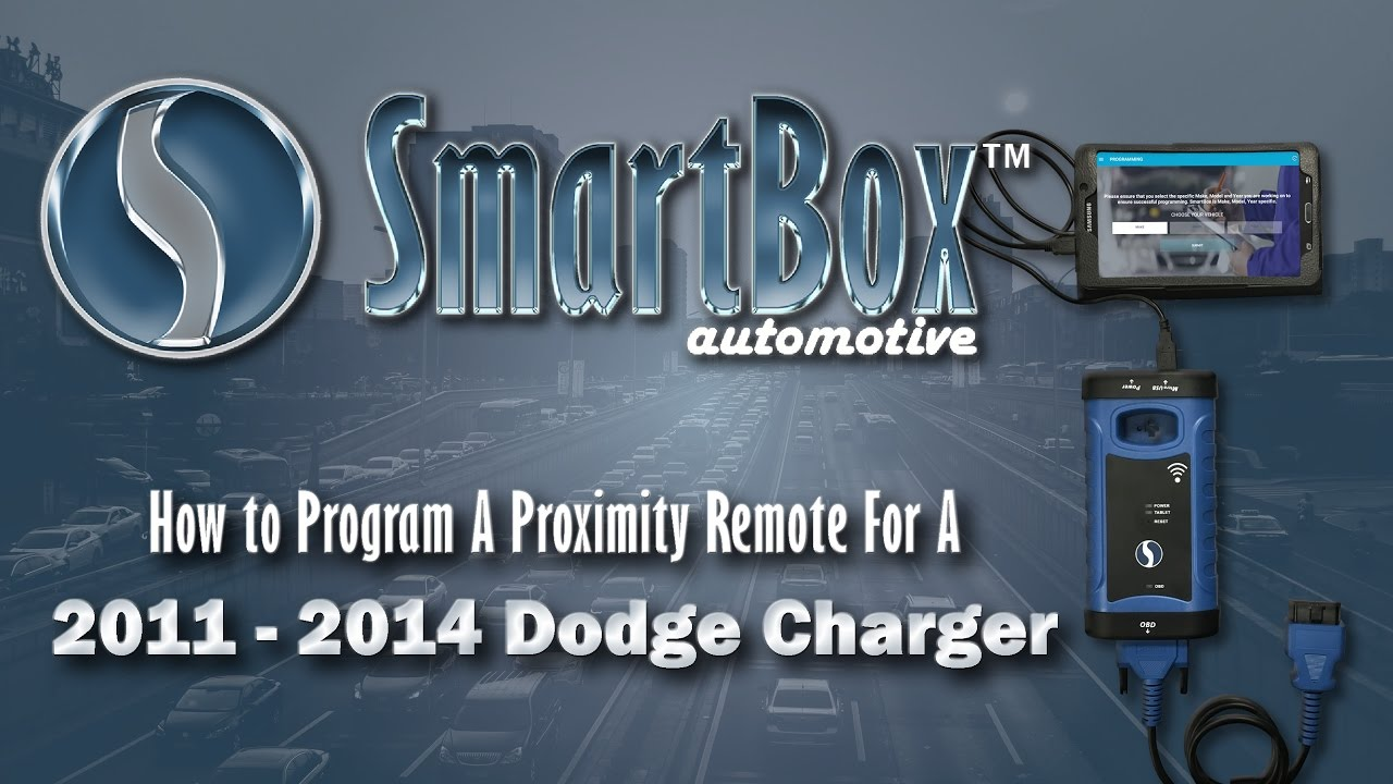 How to Program a Proximity Key to a 2011 - 2014 Dodge Charger