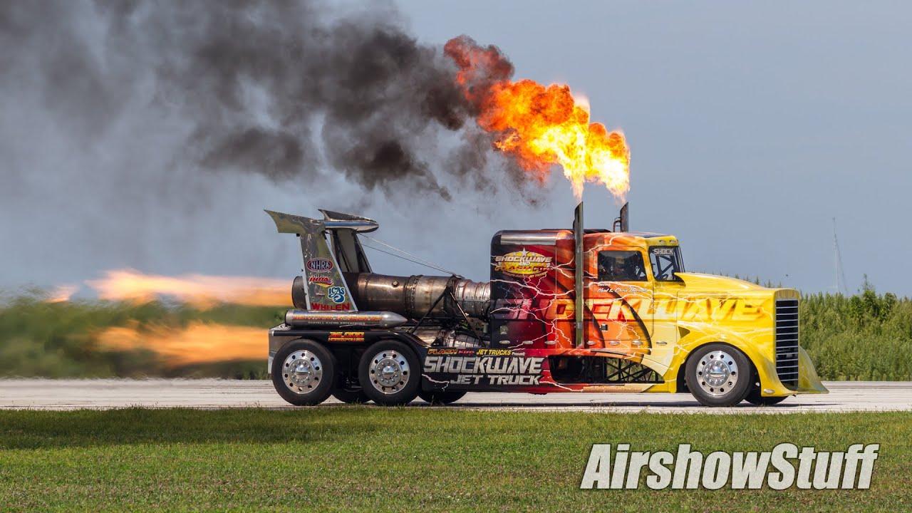 Shockwave Jet Truck Cleveland National Airshow 2015
