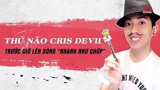 Streamer Cris Devil Gamer Lo Lắng Lo Sợ Trước Âm Nhạc Việt Nam | VieTalents Official