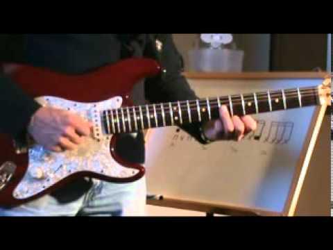 Guitar Lesson - Funk Rhythm Guitar 1