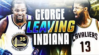 Kevin durant roasts twitter! paul george to leave pacers for lakers in 2018 cavs trade? nba news