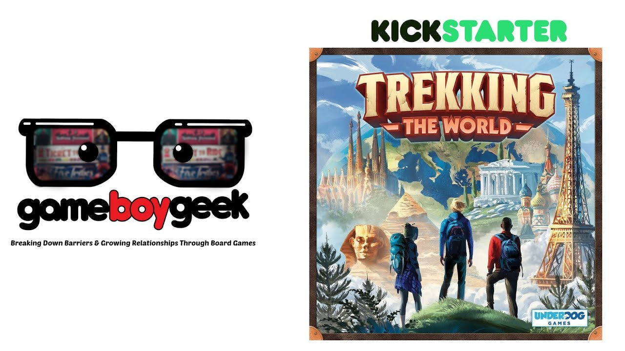 Trekking The World Preview With The Game Boy Geek Youtube