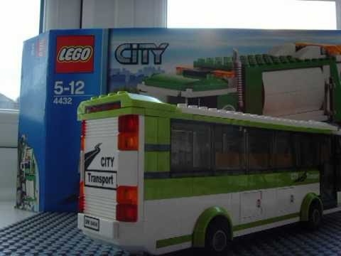 Lego Public Transport Set 8404 Bus Youtube