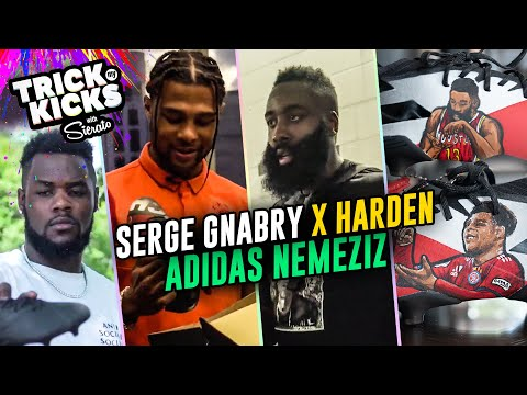 Serge Gnabry Gets Custom Boots From Sierato! JAMES HARDEN Pulls Up For FC Bayern V Real Madrid 😱