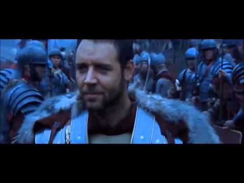Gladiator - The Wheat + The battle ( movie+soundtrack.cut out) HD