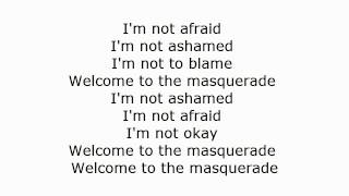 welcome to the masquerade by thousand foot krutch lyric video