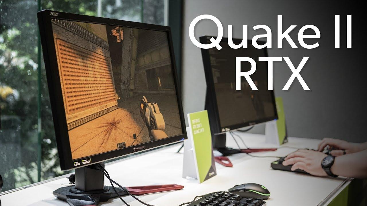 Benchmarking Quake II RTX the old school way!