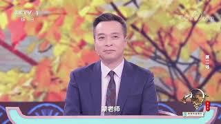 [中国诗词大会]康震:人生总有一杯酒在那等着我们| CCTV