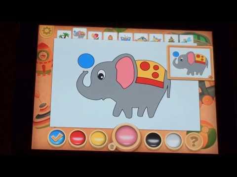 Рисование и раскраска геймплей