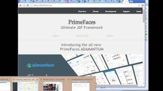 Creating template designs for websites with JSF