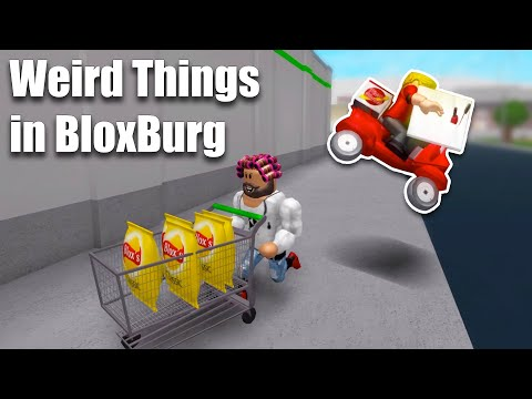 Weird Things People Do in Bloxburg.. • Roblox