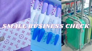 🎉 SMALL BUSINESS CHECK || TikTok 🎉
