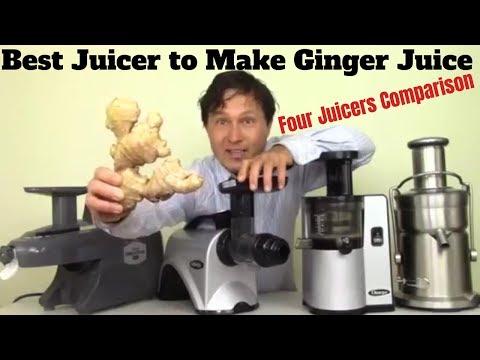 Best Juicer To Make Ginger Juice - Four Juicers Compared