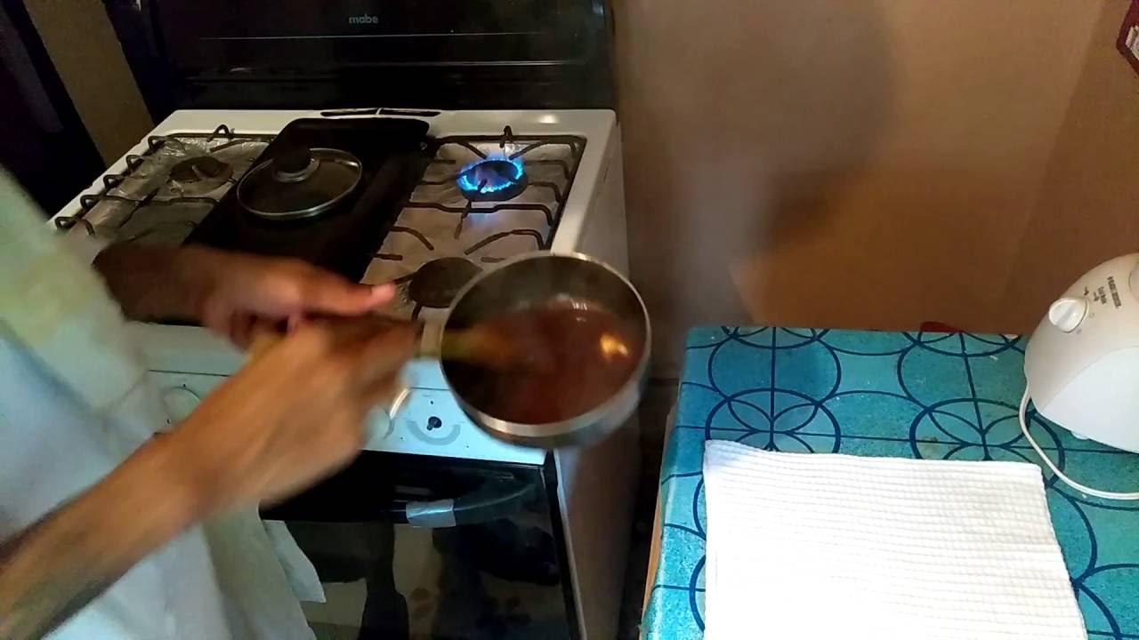 Food Tutorials  How To Make Gravy For Oven Jerk Chicken  [chef Winston]