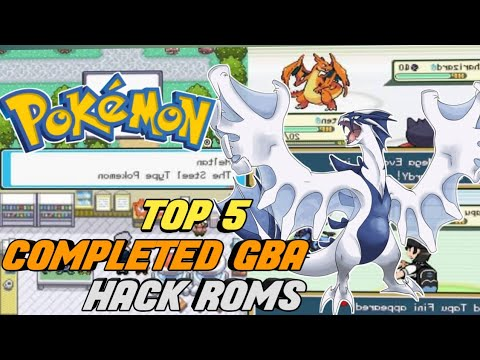 Top 5 Completed Pokemon GBA Emulator By Pokemon Hack Roms