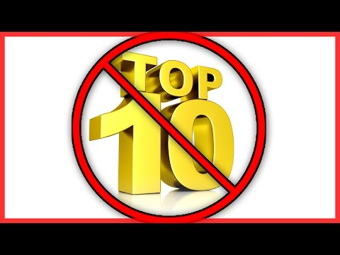 UNNECESSARY TOP 10 LISTS (YIAY #29)