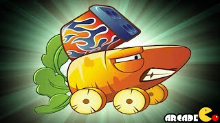 Plants Vs Zombies 2: Carrot Launcher Plant Kung Fu World New Level (China Version)