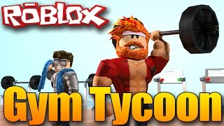 I HAVE the BIGGEST muscle? | Roblox GYM TYCOON!