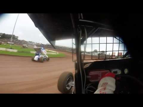Perricone World of Outlaw Hot Laps Lernerville Speedway