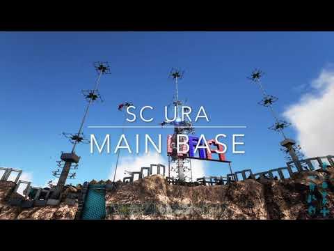 ARK PS4 Space Cowboys URA base tour server 260