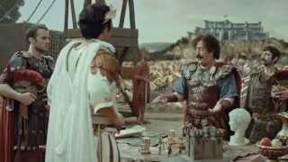Cem Yılmaz Müzekart Reklamı 2015 -  Romalılar Sezar Brütüs Komik  Reklam Filmi