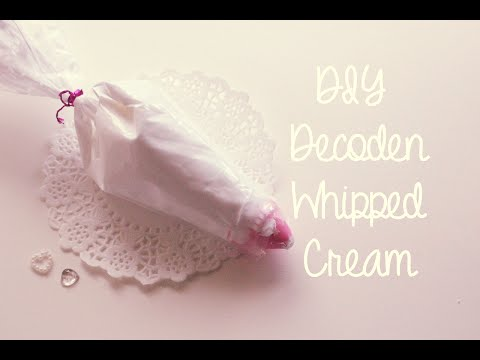 DIY Decoden How-To: Make Your Own Decoden Whipped Cream Tutorial