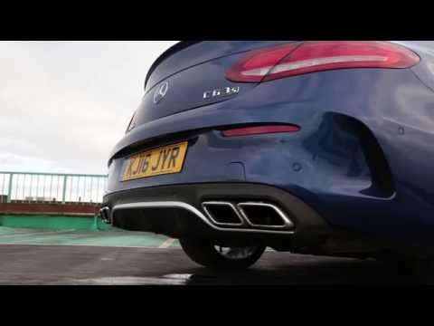 Mercedes-AMG C63 S Coupe: Pure Exhaust Noise