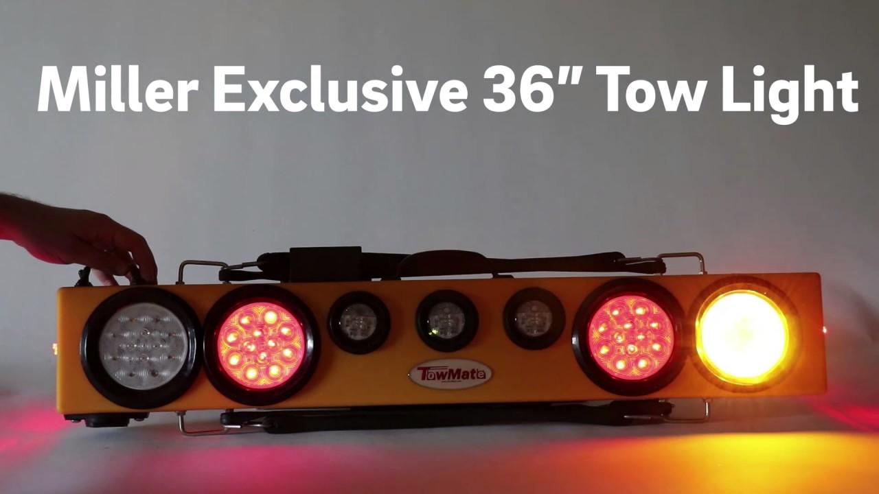 miller exclusive towmate 36 wireless tow light [ 1280 x 720 Pixel ]