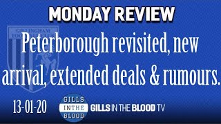 GITBTV, Monday Review incl. Peterborough Revisited, New Arrival, Extended Loans & Rumours, 13-01-20