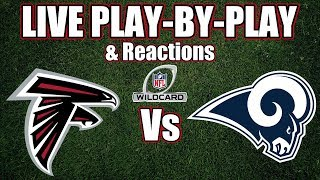 Falcons vs Rams | Live Play-By-Play & Reactions