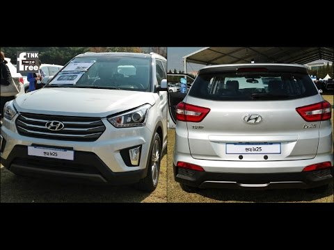 2015 Hyundai ix25 comparing ix35