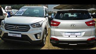 2015 Hyundai ix25 comparing ix35