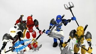 [knock-off Overview] Lego Ninjago Ultrabuild Knock Offs