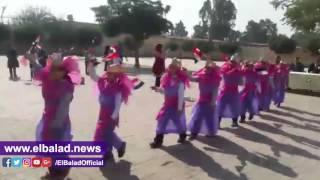مدرسة صهيب الرومي بالسلام تحتفل بمبادرة «في حب مصر» .. فيديو وصور