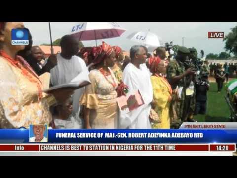 Funeral Service Of Major Gen Robert Adeyinka Adebayo Rtd Pt 18
