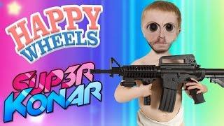 KÉVIN VA PRENDRE CHER! Happy Wheels 2