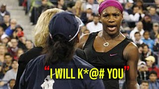 Most *CONTROVERSIAL* Match in Women's Tennis History !! (Serena Williams Biggest Meltdown)