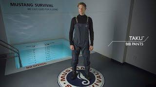 Mustang Survival - Taku Waterproof Bib pants