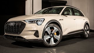WORLD PREMIERE!! - 2019 AUDI E-TRON QUATTRO - Electric has gone Audi - First glipmse of the all EV