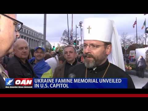 Ukrainians Dedicate Holodomor Memorial in Washington