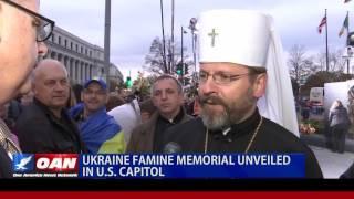 Ukrainians Dedicate Holodomor Memorial in Washington