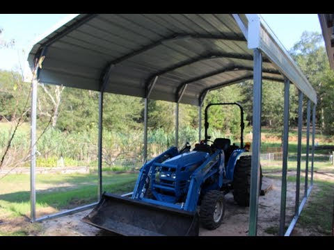 Tractor Shed In 30 Minutes