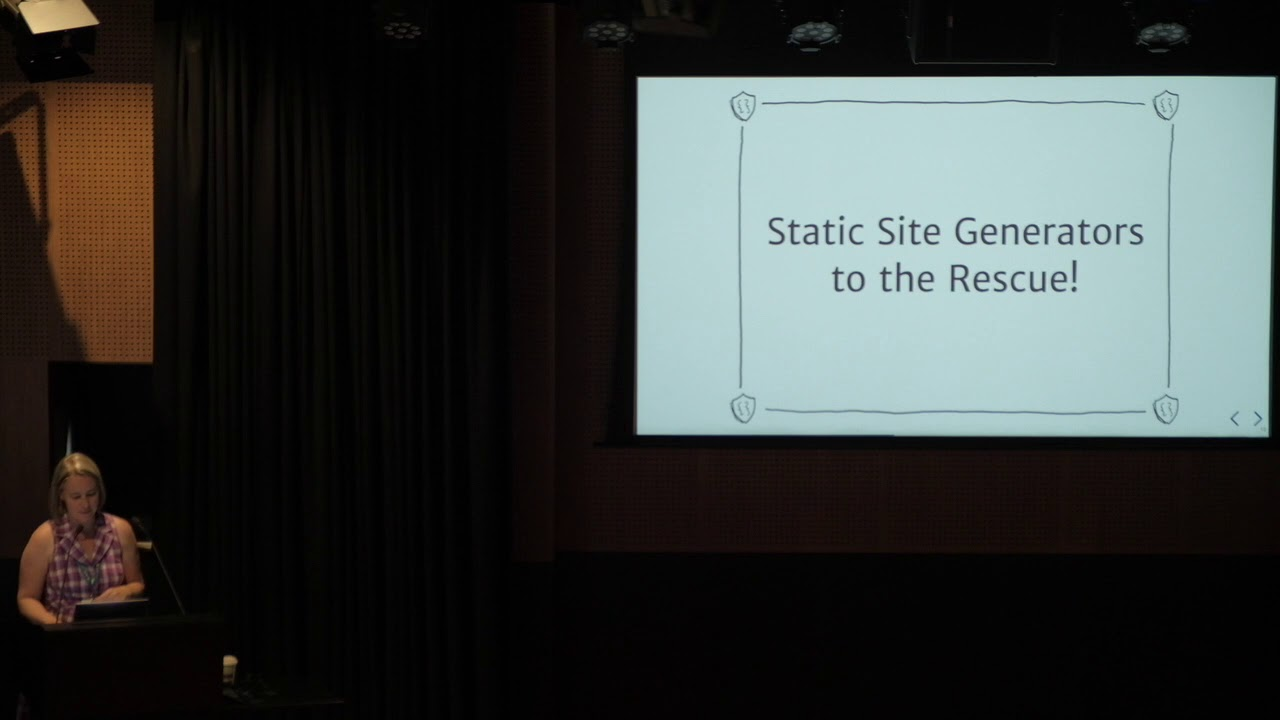 Image from Workshop - Static Site Generators, What, Why and How