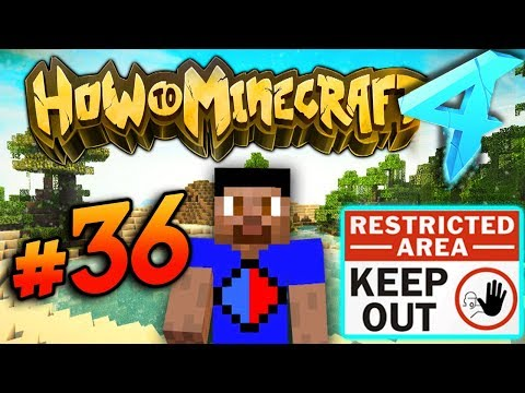 GOING OFF LIMITS! - HOW TO MINECRAFT S4 #36