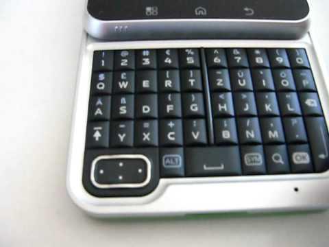 Motorola Flipout Unboxing und Bedienung TEIL 1