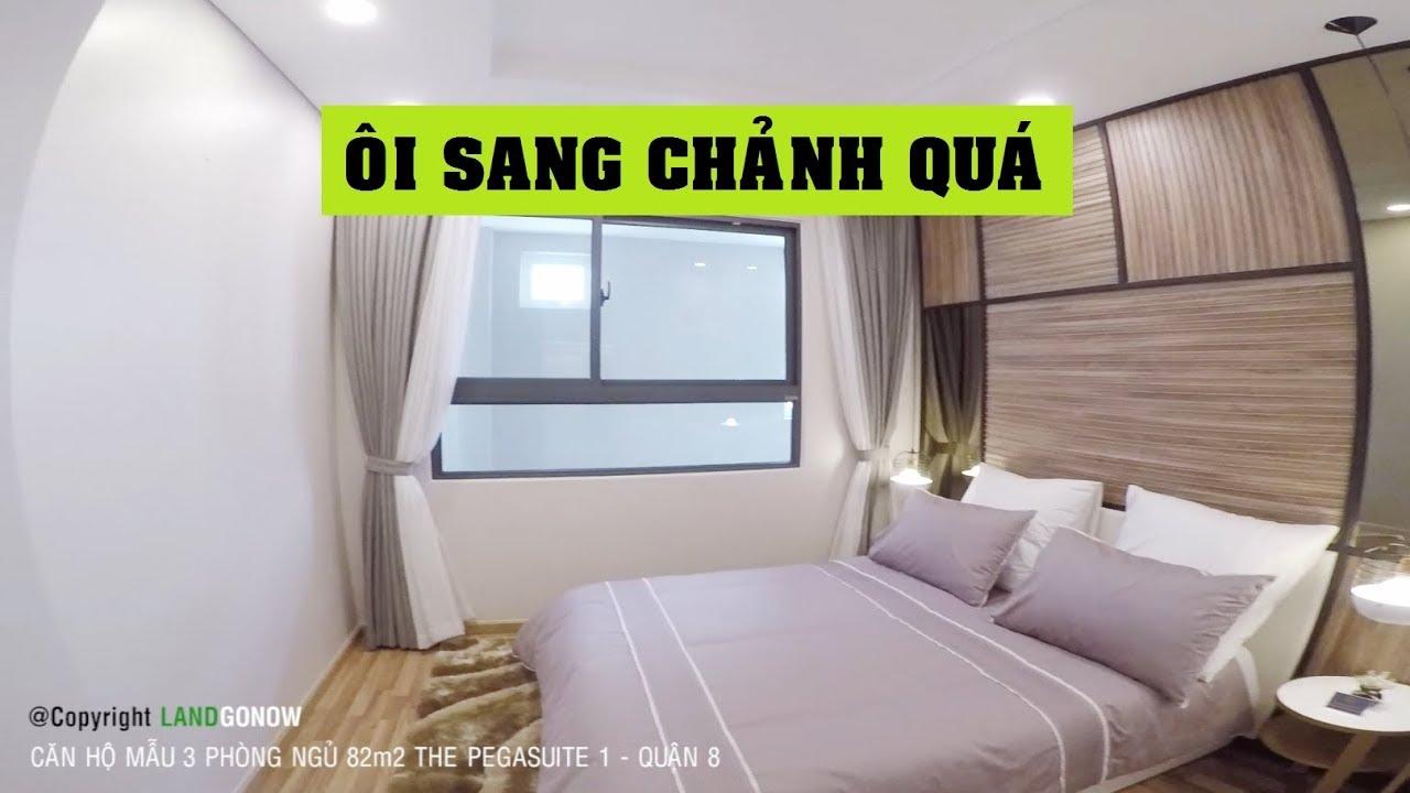 Căn hộ mẫu The Pegasuite 1, 82m2 3 phòng ngủ, Tạ Quang Bửu, Quận 8 - Land Go Now ✔