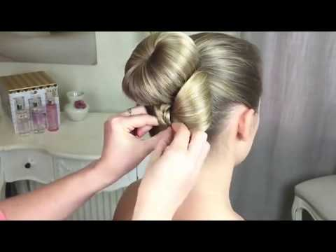 "Bun with a Bow By: Sweethearts Hair Design ""MetDaan Creative Video"""