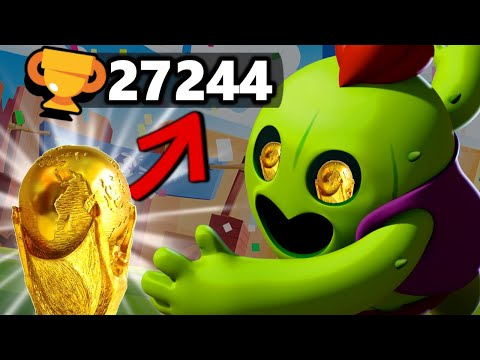 27.244 TROPHEES !!! RECORD DU MONDE ET RUSH BRAWL BALL AVEC LE PRO TWISTITWIK !!!