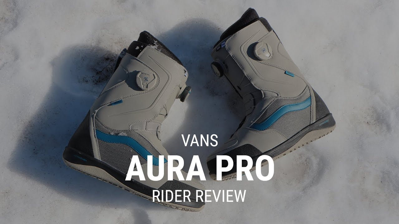 dfad65575ebf12 Vans Aura Pro 2019 Snowboard Boot Review - Tactics.com - YouTube